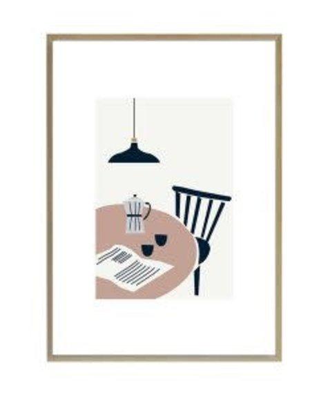 Michoucas Affiche Café