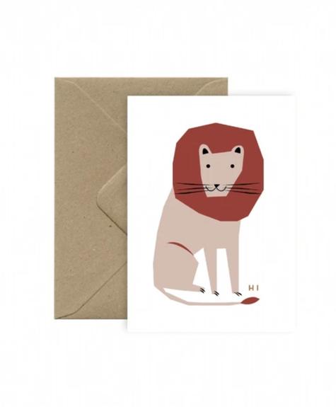 Carte Hi Lion
