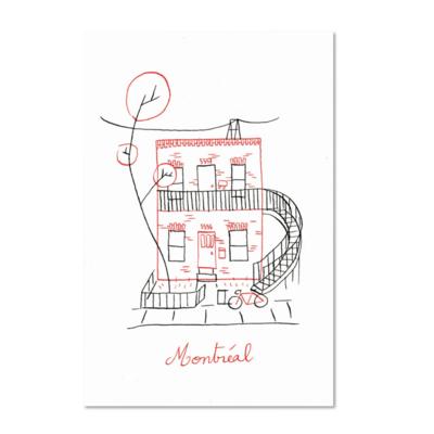 Paperole Montréal Duplex Poster