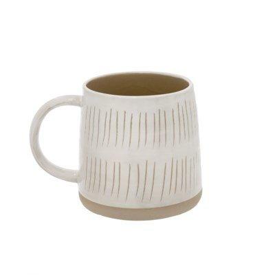 Mug Sandstone - doubles rayures