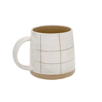 Mug Sandstone - quadrillé
