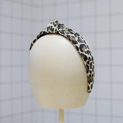 Femme Faire Bandeau léopard