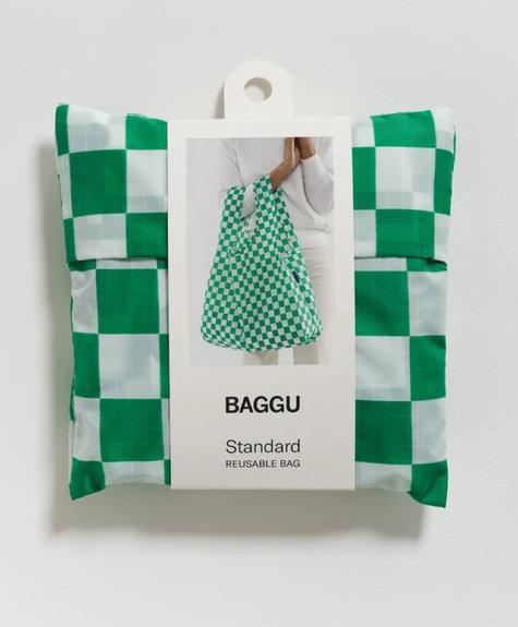 Sac Baggu -  Damier Vert