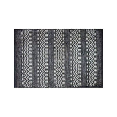 Avocado Decor Tapis coton - Largo noir - 2x3