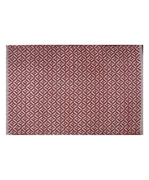 Avocado Decor Tapis coton Bev rouge  (2'x3'; 60x91cm)