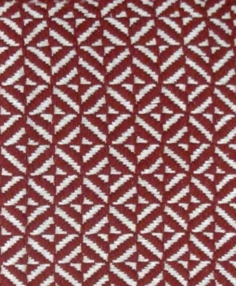 Avocado Decor Cotton rug - Red Bev (2'x3 '; 60x91cm)