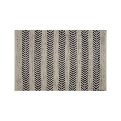 Avocado Decor Cotton rug - Arrow  black - 2x3
