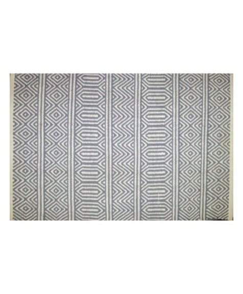 Avocado Decor Cotton rug - Geo lavender - 2x3