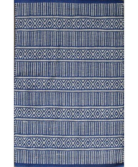 Avocado Decor Cotton rug - Century blue (2'x3 '; 60x91cm)
