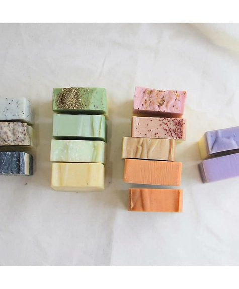 Deux Cosmétiques Argan & Eucalyptus Soap
