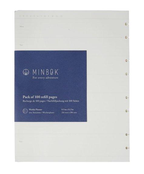 Recharge Cahier Minbok XL -