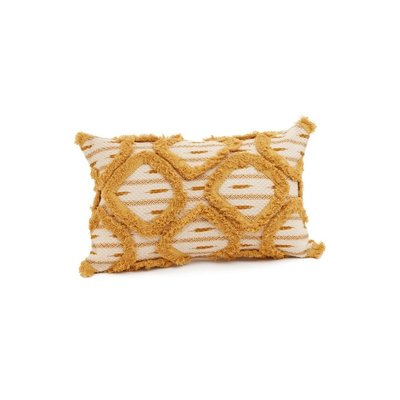 Coussin losanges - Moutarde