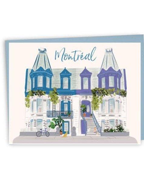 Carte - Montréal - Carré St louis