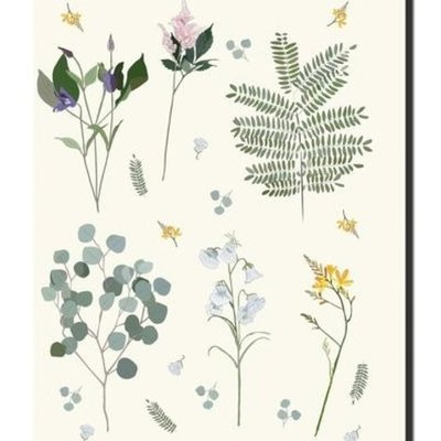 Lili Graffiti Notebook - Botanical