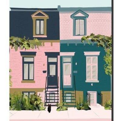 Carnet Lili -  Façade rue Coloniale