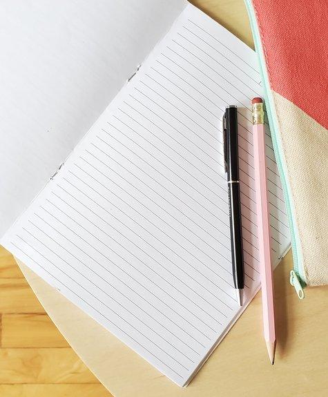 Lili Graffiti Notebook - Botanical