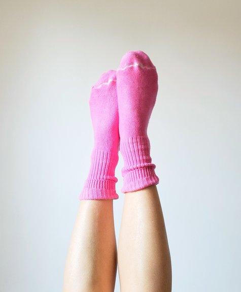 Chaussettes Okay Rose