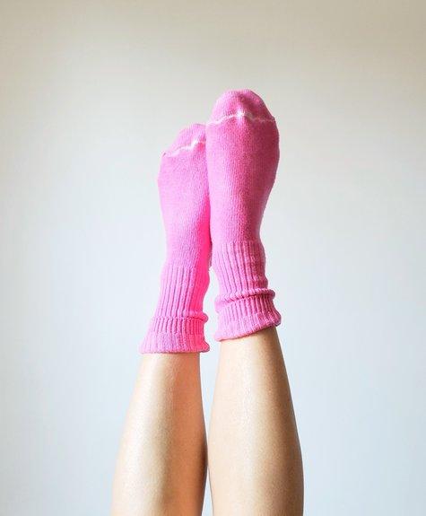 OKAYOK Cotton Socks Pink