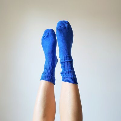 Chaussettes Okay Bleu