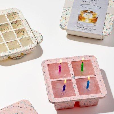 Rack glaçons XL- Confettis rose