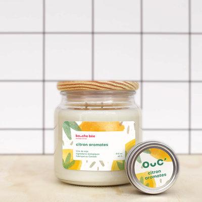 Bougie Citron aromates