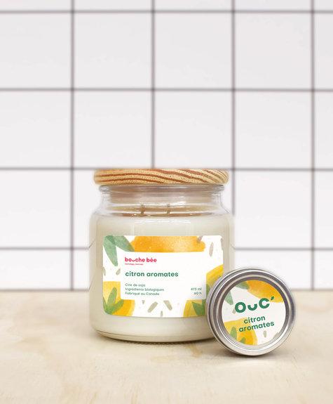 BB Bougie Citron aromates