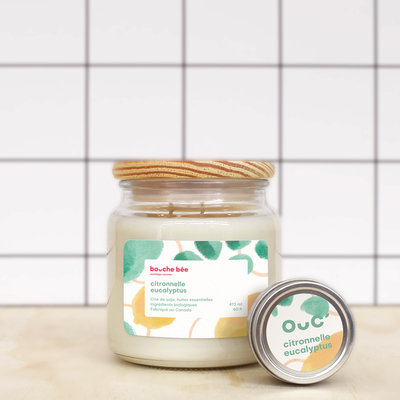 BB Lemongrass Eucalyptus candle