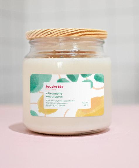 BB Lemongrass Eucalyptus candle