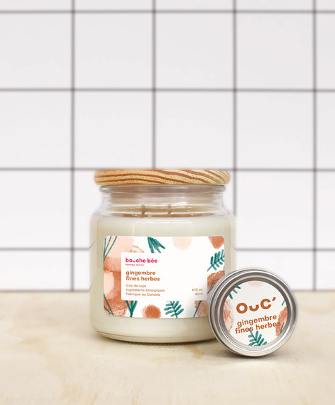 BB Ginger - aromatics herbs candle