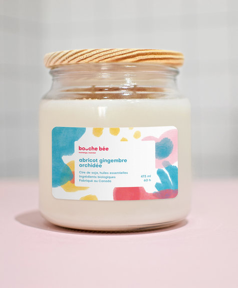 BB Apricot ginger orchid candle