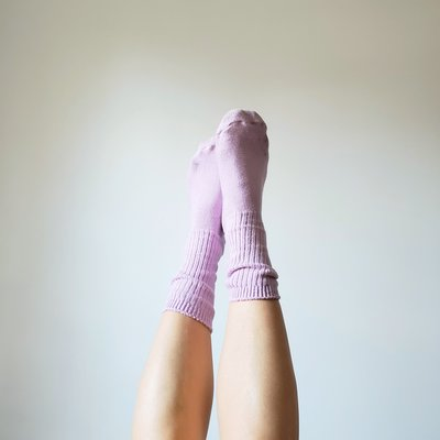Chaussettes Okay - Lilas 9-13 (L)