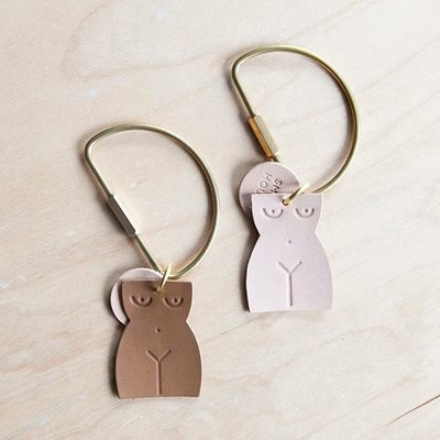 Small Hour Woman keychain D