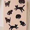 Carte Mimi - Chats noirs