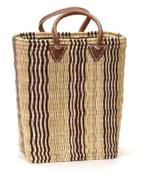 Bacon Basket Limited Deep market Indigo basket - M