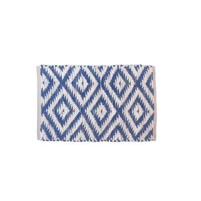 Gajmoti 20x32 Losanges - Bleu