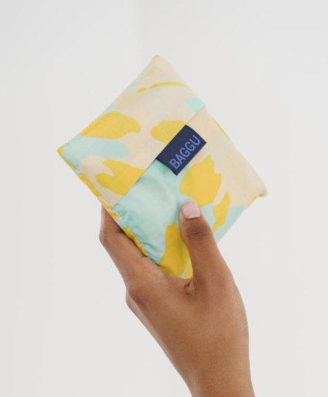 Sac Baggu -  Tie Dye Aqua