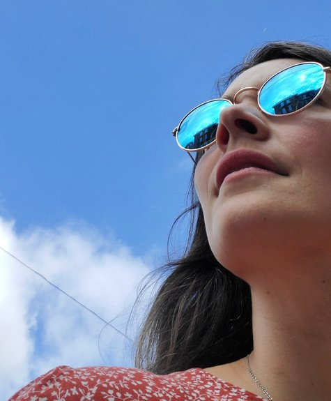 Blue Planet Jamie - mirror sunglasses