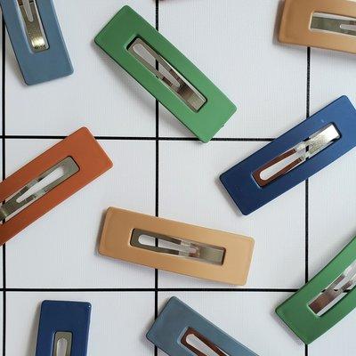 Barrette large (5 couleurs)