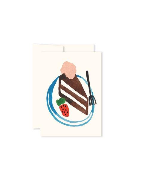 Paperole Mini cake card