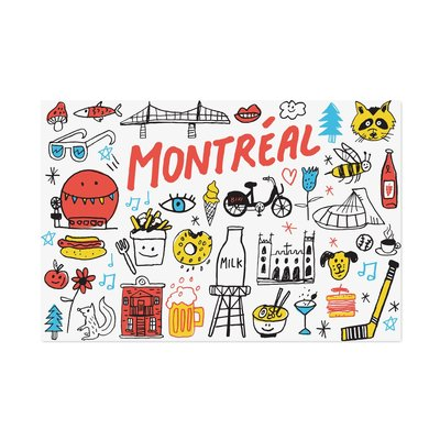Paperole Post Card - Best of Montreal