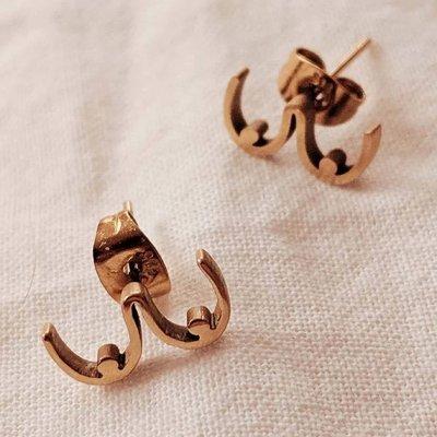 Mimi - Auguste Earrings Mimi -  Boobs  gold