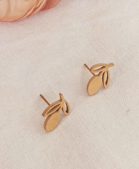 Mimi - Auguste Earrings -  Lemons gold