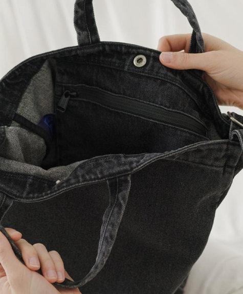 Baggu Duck bag - Washed Black