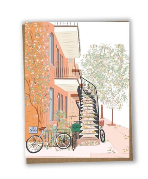 Lili Graffiti Autumnal bicycle