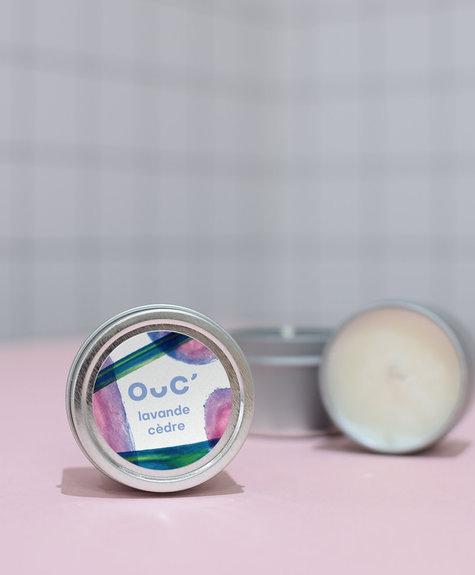 BB Cedar wood - Lavender candle