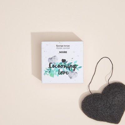 Cocooning Love Éponge Konjac - Noire