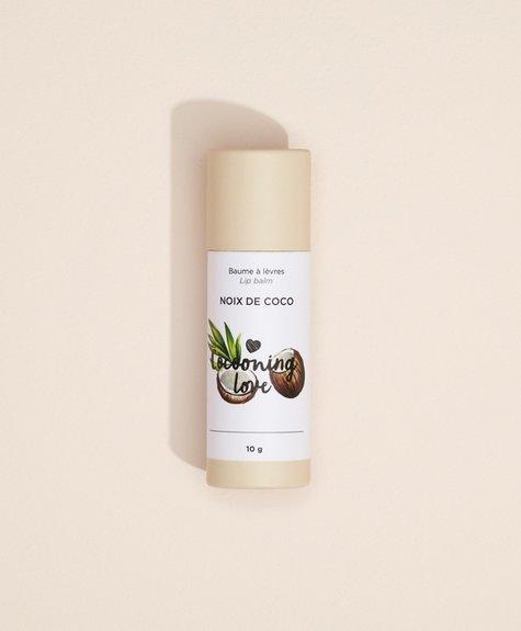 Baume à lèvres végane - Noix de coco