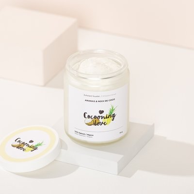 Cocooning Love Whipped Exfoliant – Pineapple and Coconut