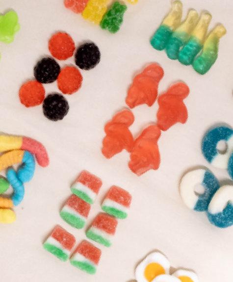 La boîte à bonbons Calendrier de l'Avent - C'est Bonbons