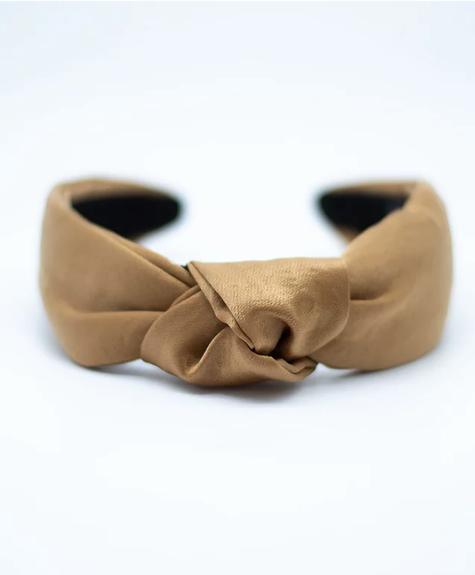 Femme Faire Satin Headband -